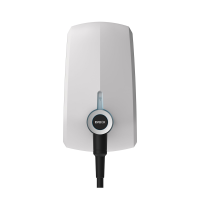 EVBox Elvi EV Charge Point 7.4kW - Single Phase with WiFi & 6m Cable - White