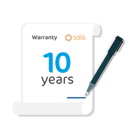 Solis (Solis-(25-40K)-Extension-10) 25-40kW Warranty Extension from 5 Years to 10 Years