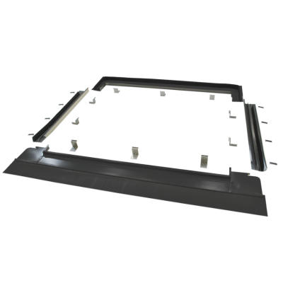 Viridian Clearline Fusion F16 Landscape Roofing Kit - Single Panel Flashing