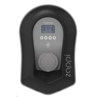 myenergi Zappi EV Charge Point 7kW Single Phase Untethered - Black