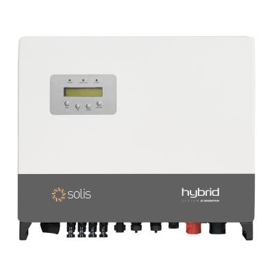 Solis RHI-3P5K-HVES-5G - 5G 5.0kW 400V Hybrid Inverter - Three Phase with DC