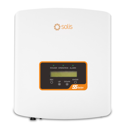 Solis MINI 5G 3000W Solar Inverter - Single Phase with DC S5-GR1P3K-M-DC