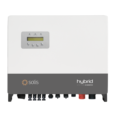 Solis RHI-3P8K-HVES-5G - 5G 8.0kW 400V Hybrid Inverter - Three Phase with DC