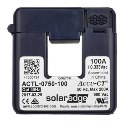 SolarEdge - 100A Split-Core Current Transformer