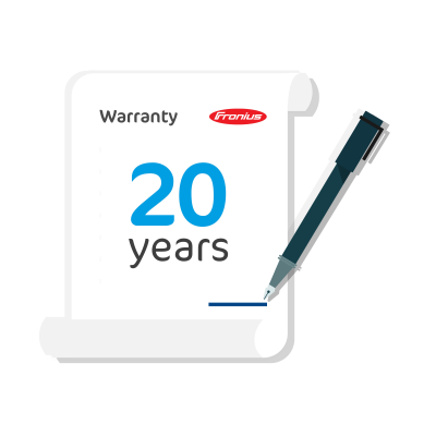 Fronius Symo 15-17.5kW Warranty Extension to 20 Years