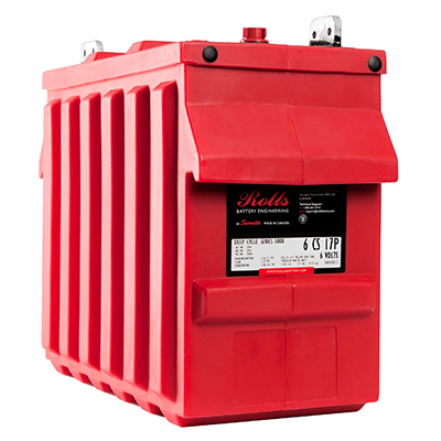 Rolls RB-6CS17P - 6V 770Ah Deep Cycle Battery