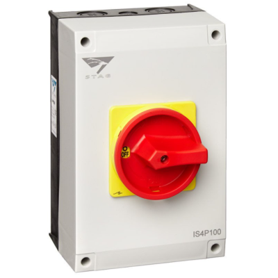IMO Stag AC Isolator 100A - 4 Pole